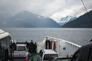 Car Ferry from Vangsnes to Hella